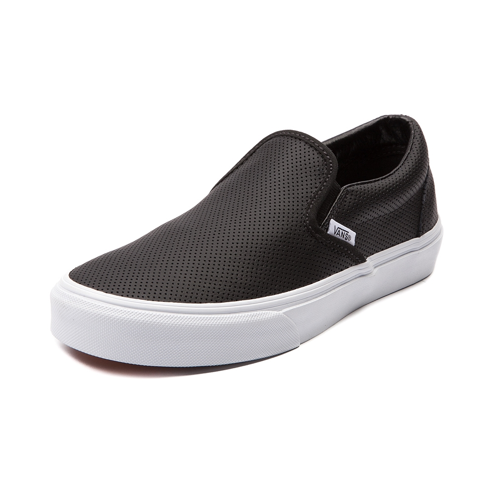 Vans Perforated Slip On in Black