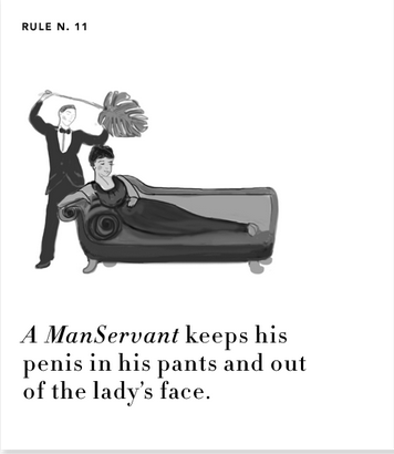 ManServant Rule #11