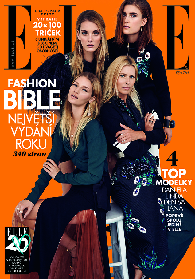 Elle CZ October 2014