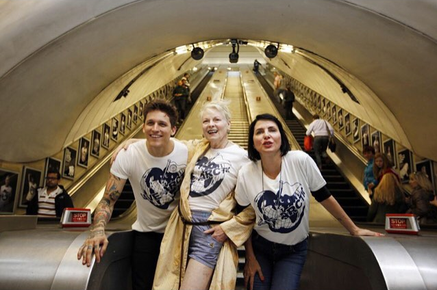 "Vivien Westwood and Leebo Freeman for ""Save The Artic"""