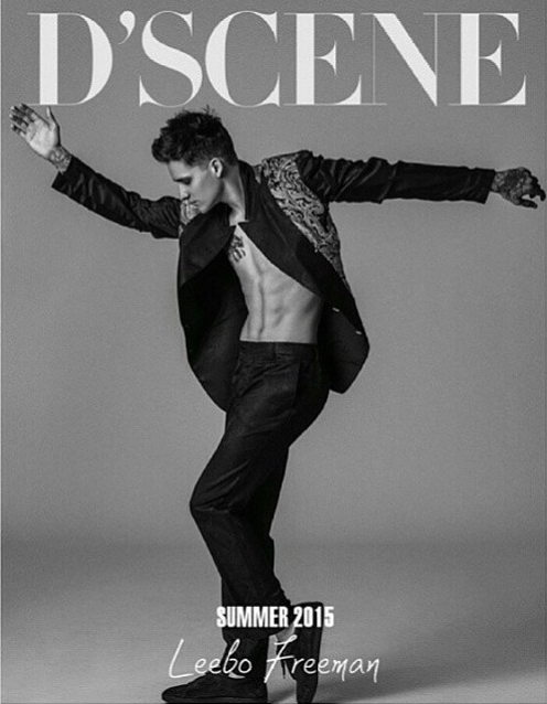 Leebo FreeMan D'Scene Cover Summer 2015 Milan