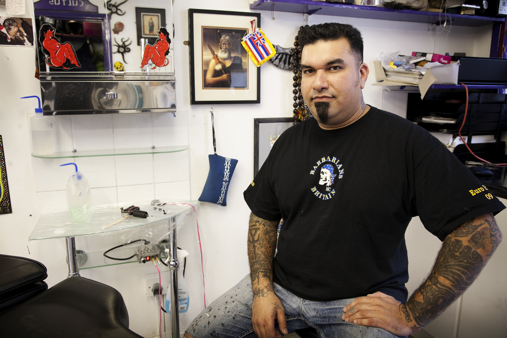 Naresh Bhana, Flamin' Eight Tattoos, London   TimeOut