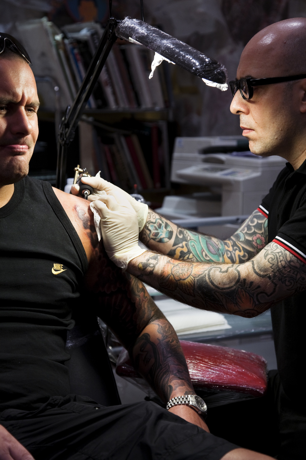 Mo Coppoletta, The Family Business Tattoo Shop, London   TimeOut