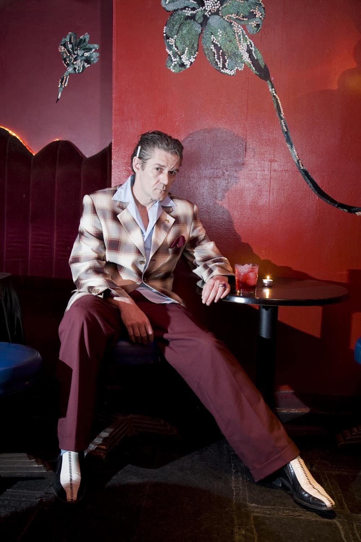Zimon Drake, owner of the Black Gardenia speakeasy, London -  TimeOut