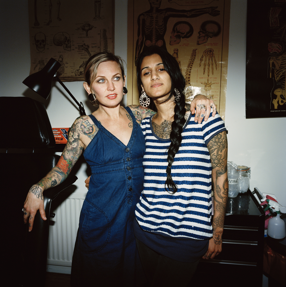 Nikole Lowe and Saira Hunan, Good Times Tattoos, London