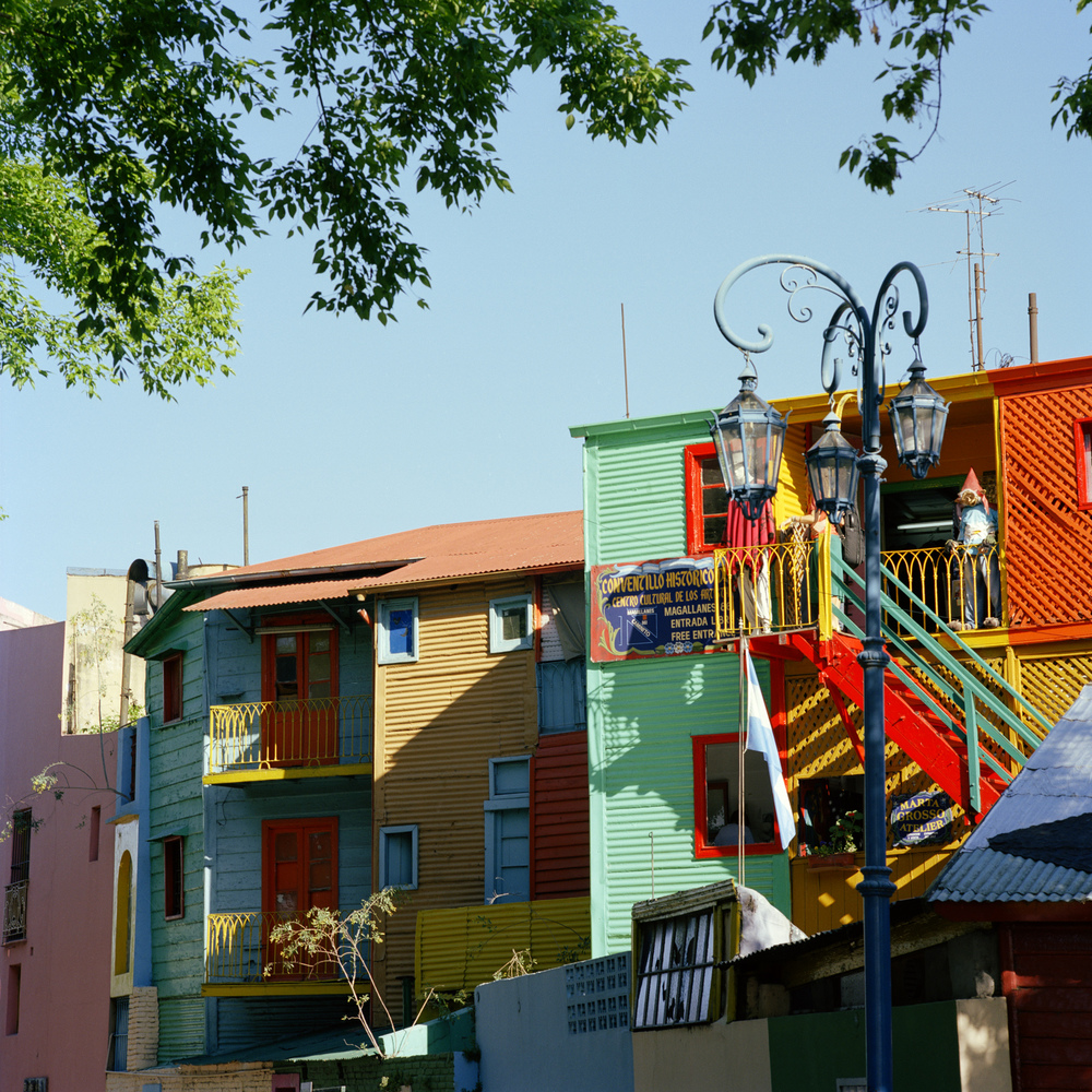 La Boca neighbourhood. Caminito.