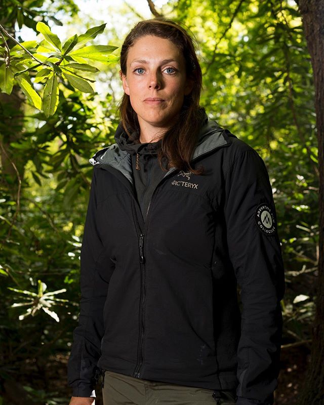 An outtake from a recent portrait shoot of Megan Hine @megan_hine for the Times @thetimes. Hine is a survival consultant and author of a very recent book 'Mind of a Survivor'. She has who has worked closely with Bear Grylls for a decade, and leads expeditions with private clients into some of the world's most inhospitable conditions. Fascinating lady, wonderfully calm, and a great subject. #meganhine #mindofasurvivor #thetimes #commissioned