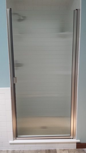 Semi Frameless Doors Preferred Shelving Bath