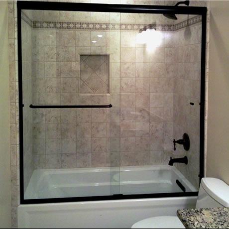 semi frameless doors preferred shelving bath
