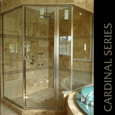 Semi Frameless Doors — Preferred Shelving & Bath