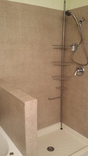 Semi Frameless Doors — Preferred Shelving & Bath