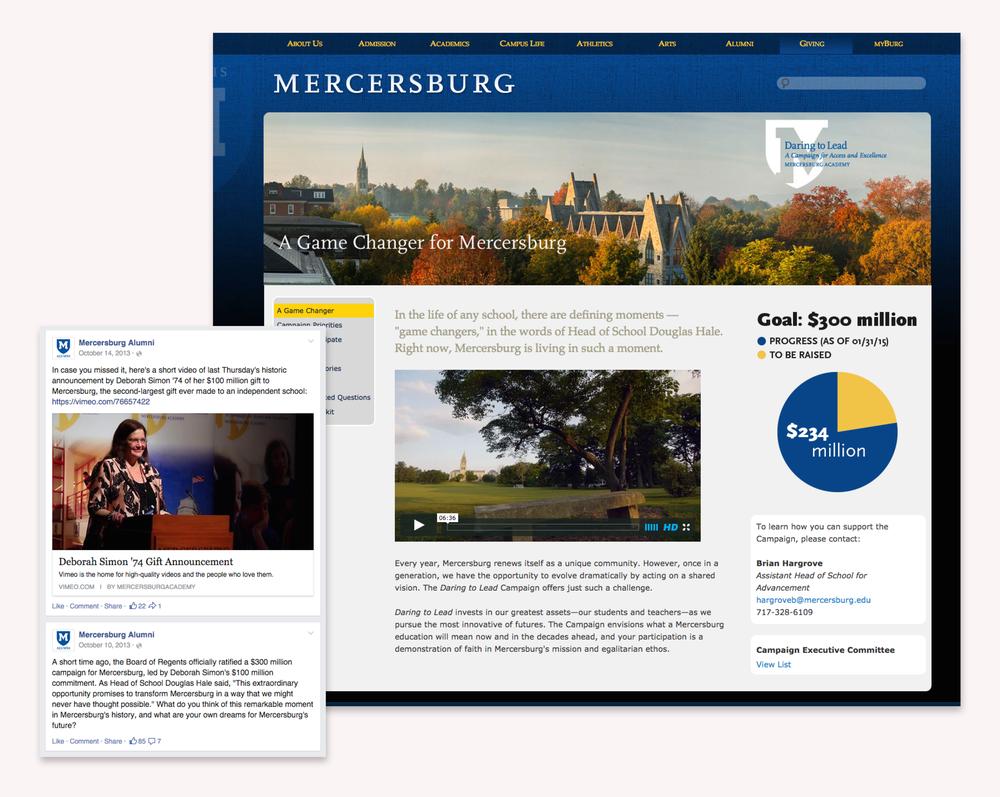 Mercersburg website