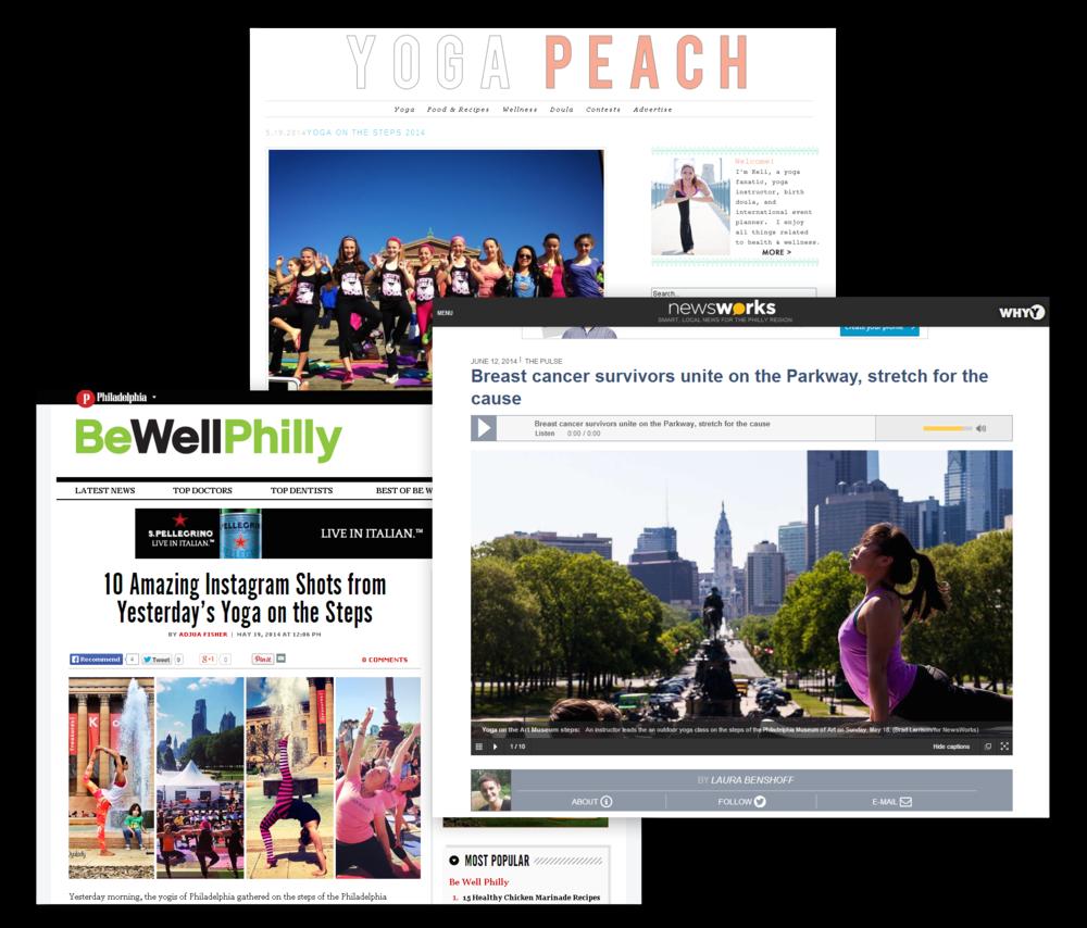 LBBC Yoga on the Steps 2014