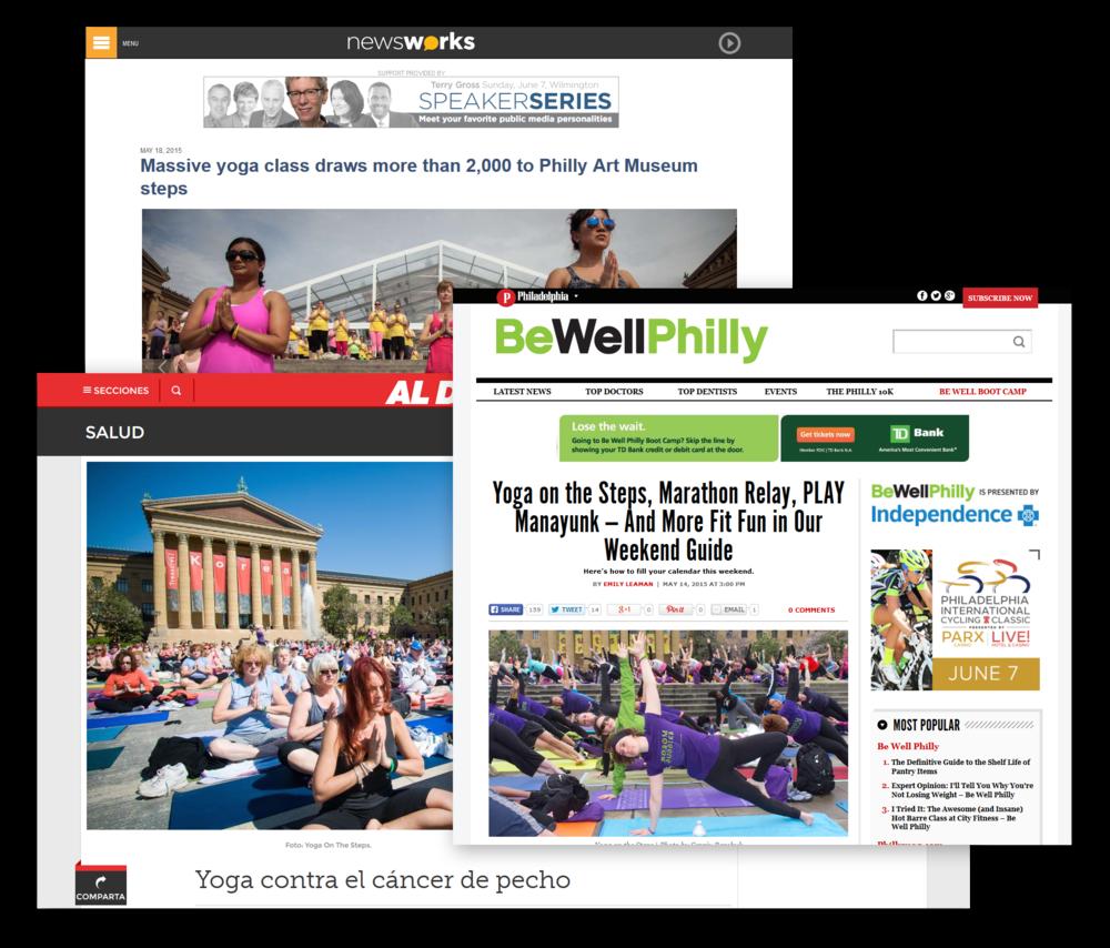 LBBC Yoga on the Steps 2015