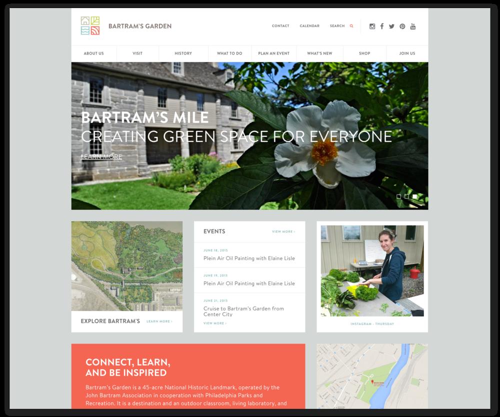 Bartram's Garden website