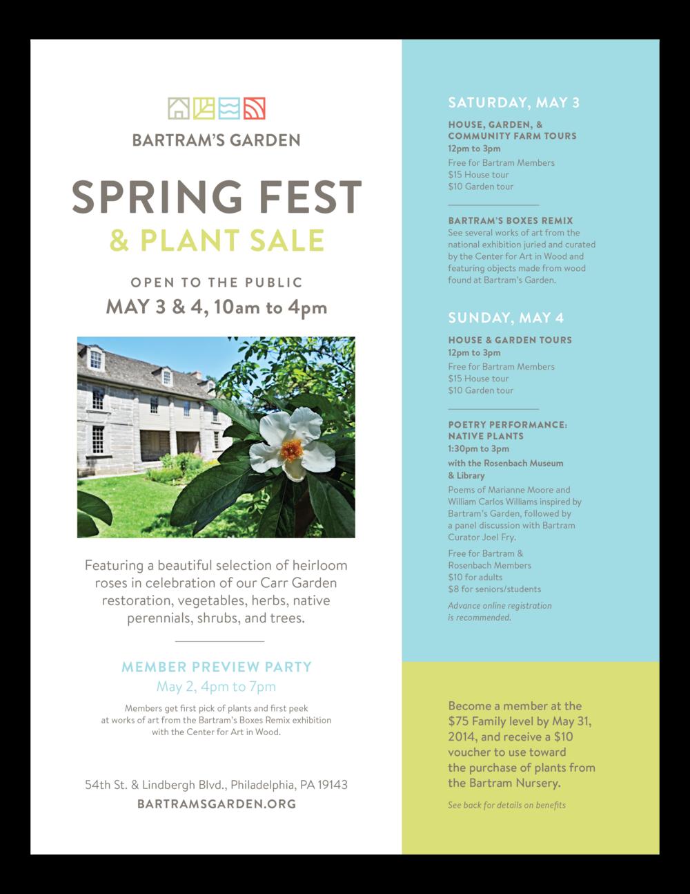 Bartram's Garden event