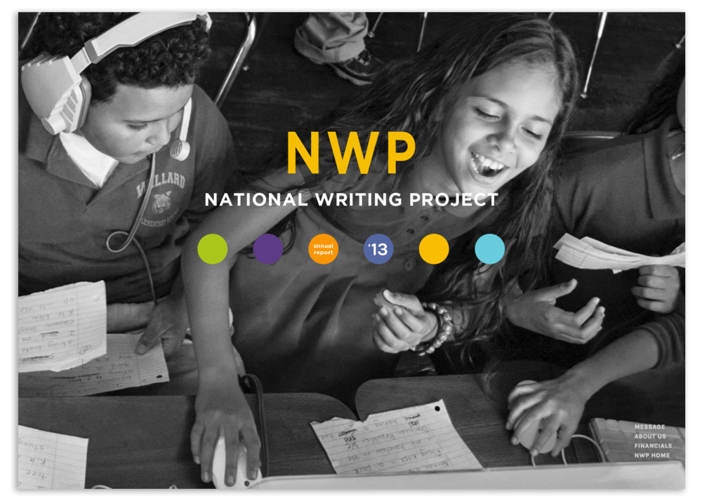 National Writing Project website