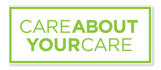 Care About Your Care logo