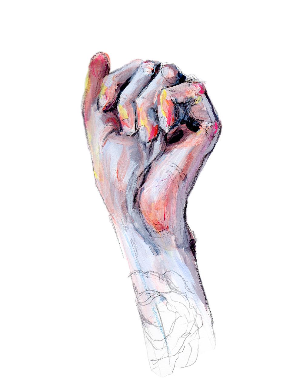 Hand Study - Fist 1