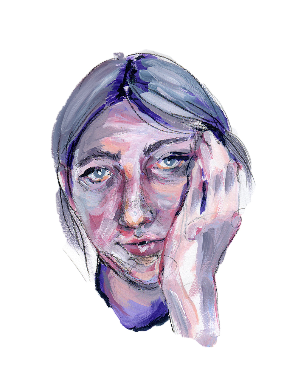 Self-Portrait Study - 1