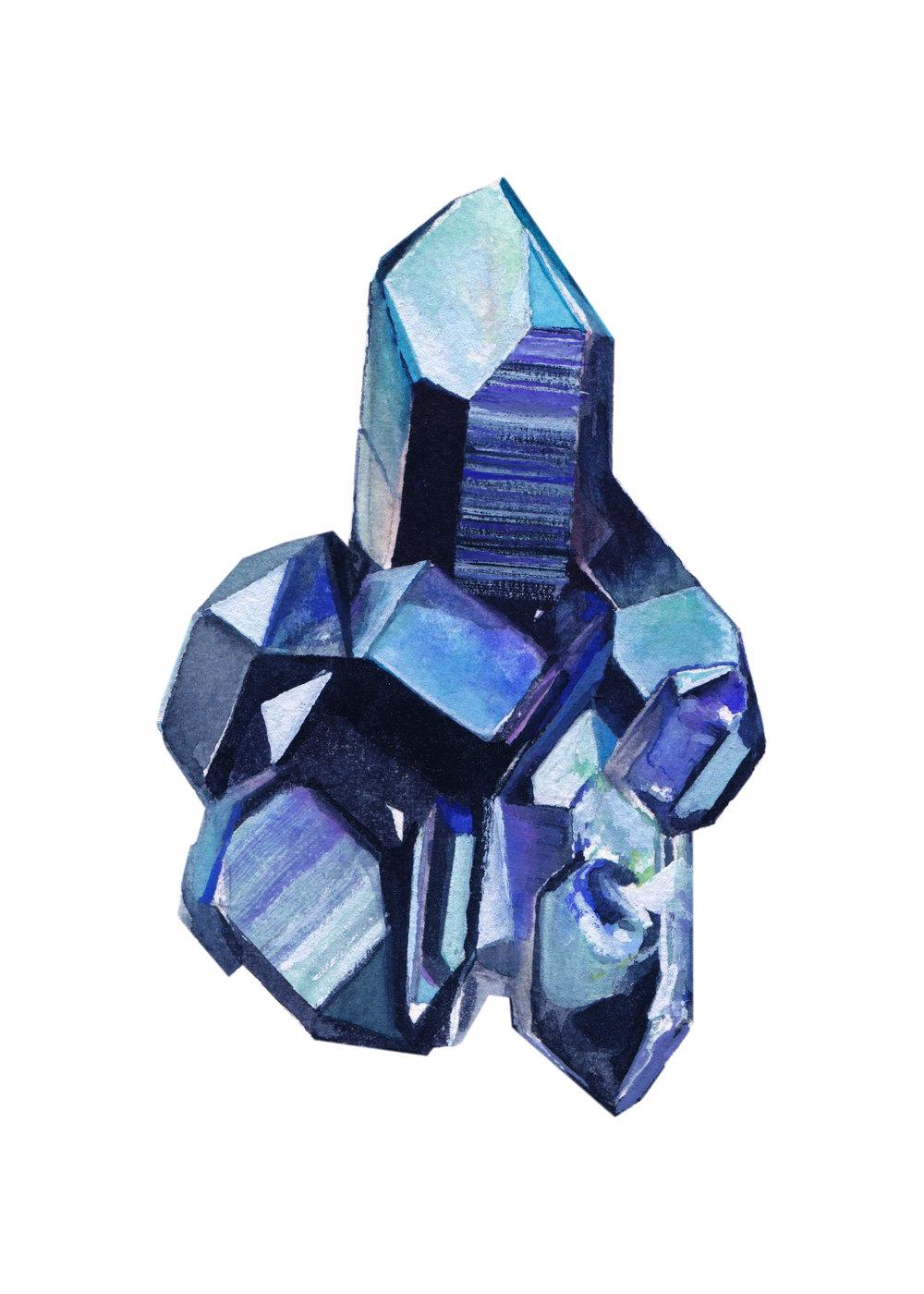 Cobalt Quartz l