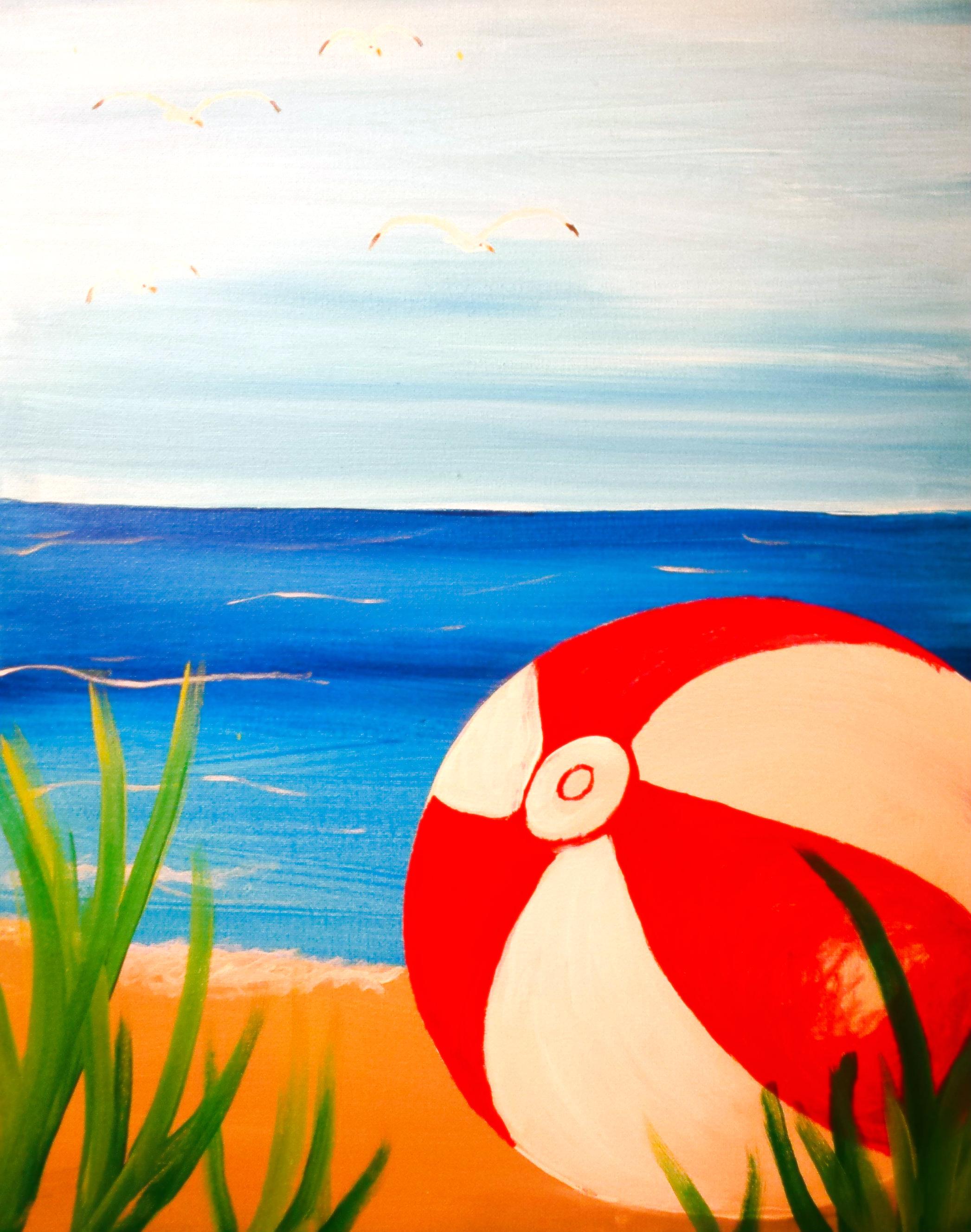 BEACH BALL By Melanie Atesalp