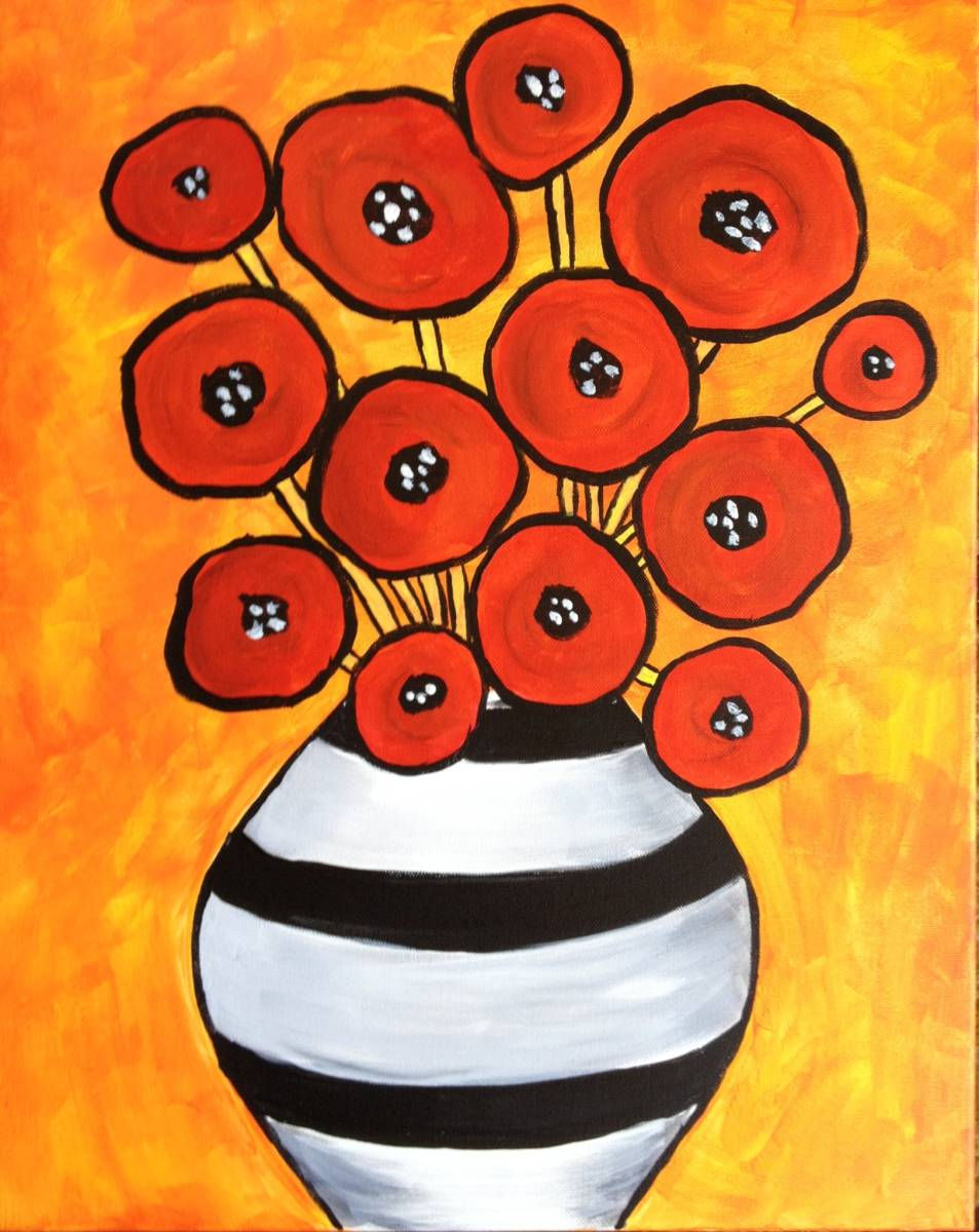 Poppies and Vase.JPG