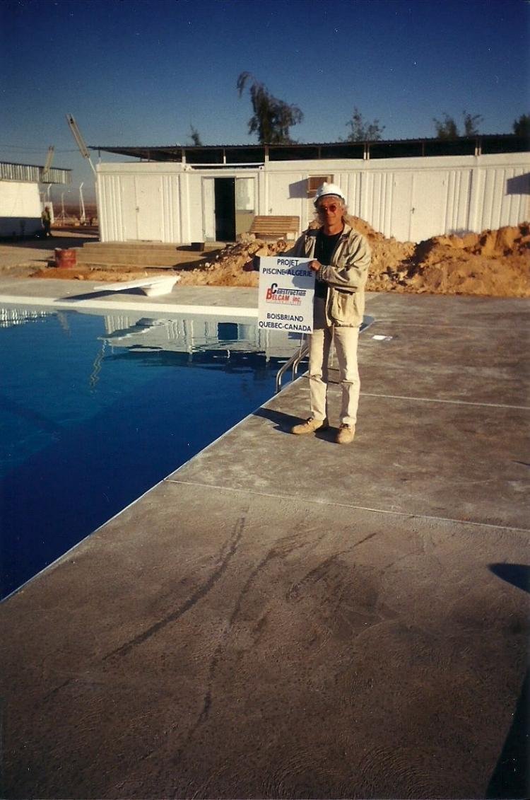 projet Rhourde-Nouss pour snc-lavallin en 1998