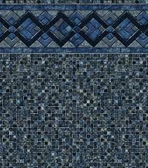 COBALT LAKE GREY MOSAIC