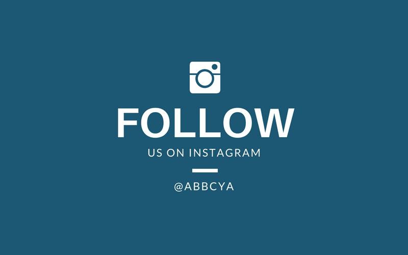 Follow Us on Instagram - Get all the latest info! @abbcya