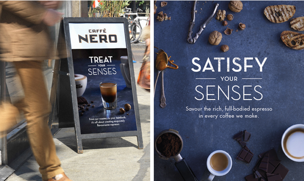 Caffe Nero campaign, Photographer Anders Schonnemann