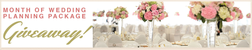 "Are you feeling overwhelmed with planning the last minute details of your wedding day? Well you're in luck! The Event Company is giving away a Month of Wedding Coordination package to a special couple who will be getting married this June -or- July 2015! We will take care of confirming your vendors, helping you create your timeline, and executing your special day. You will even have your very own ""Day-of-Coordinator"" to help make sure any last minute issues are handled smoothly."