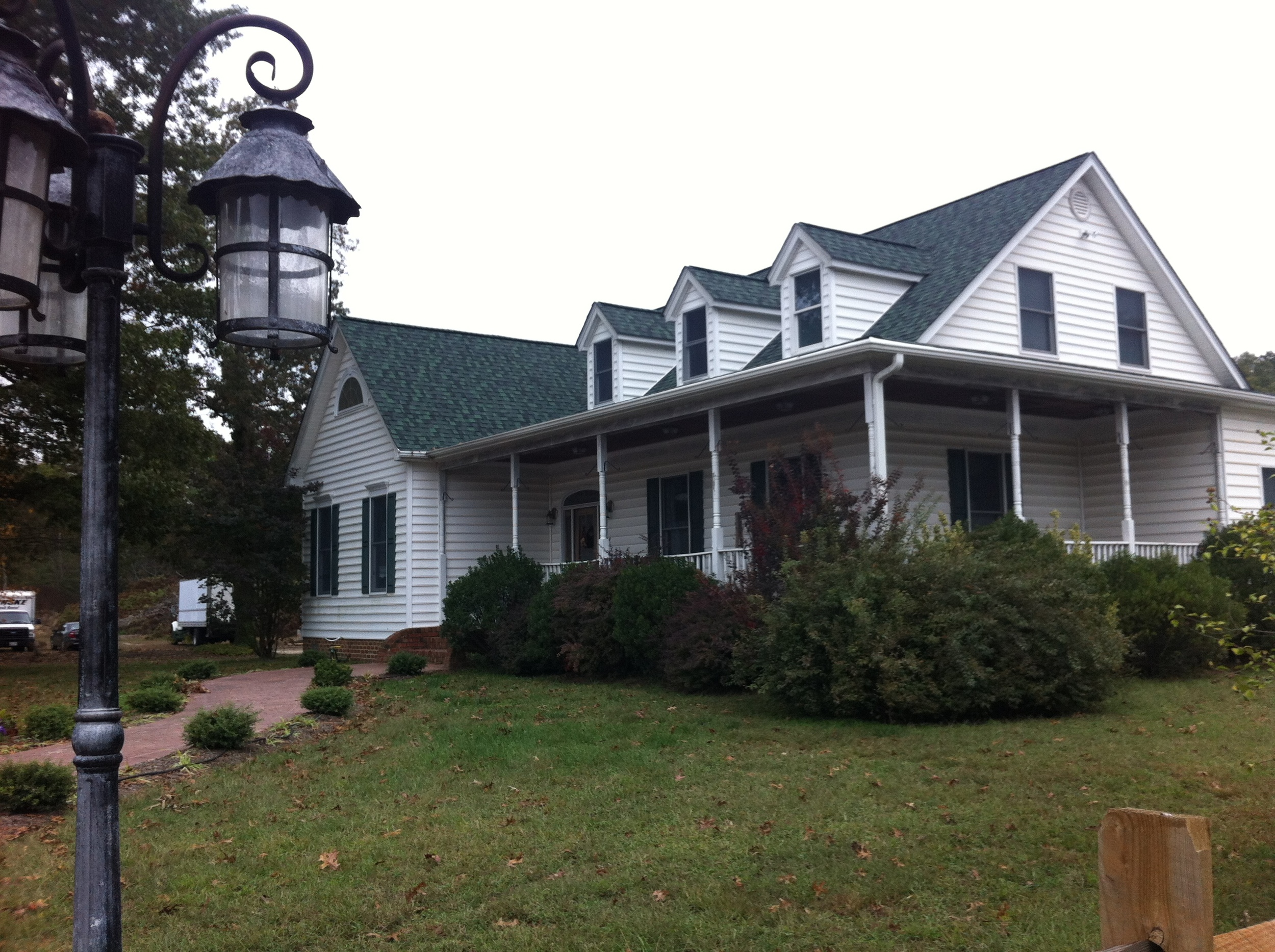 The main house at Shlagel Farms. This family owned and operated farm has been in operation for over a century!
