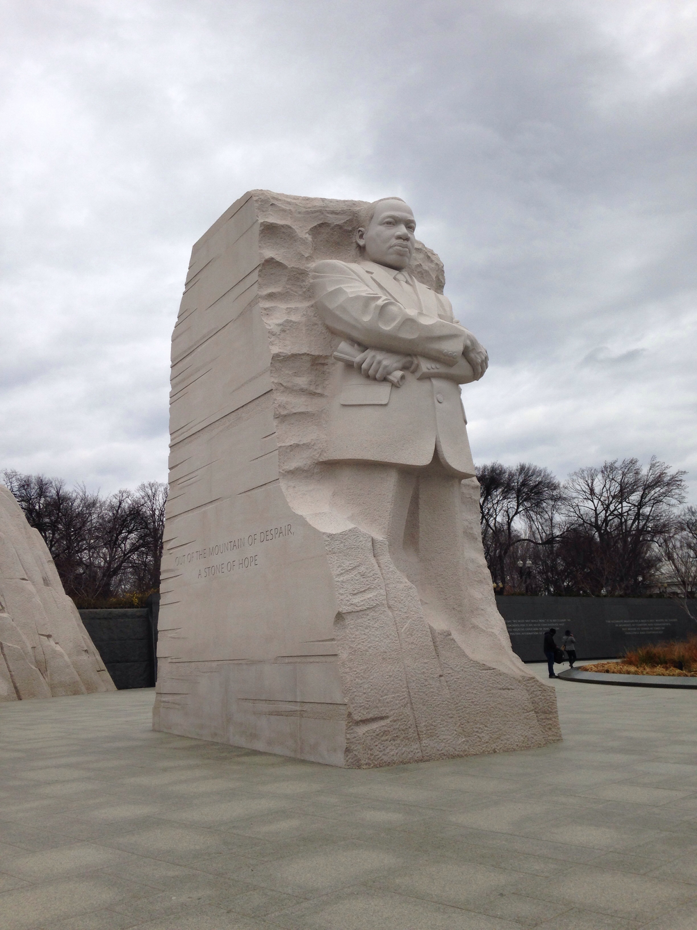The Dr. King Memorial in Washington D.C.