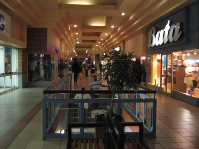 This mall was interesting, merely because we hadn't seen a mall in months. There was nothing special about it that said- Yay, I'm in Swaziland however :/