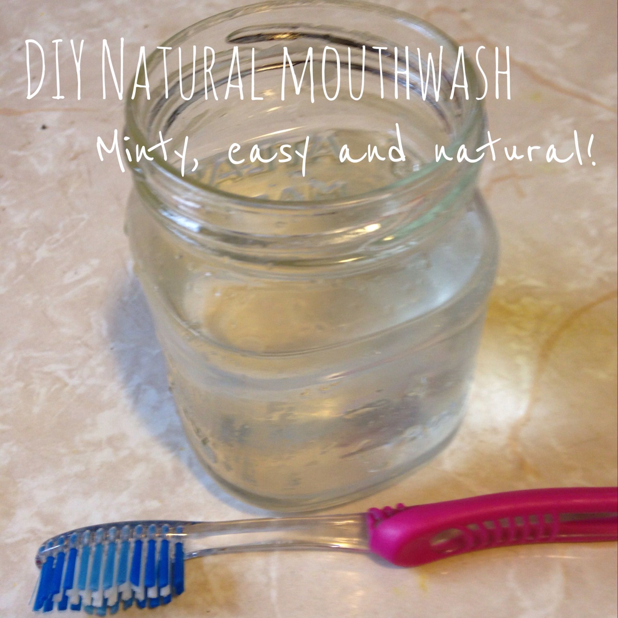 DIY Natural Mouthwash