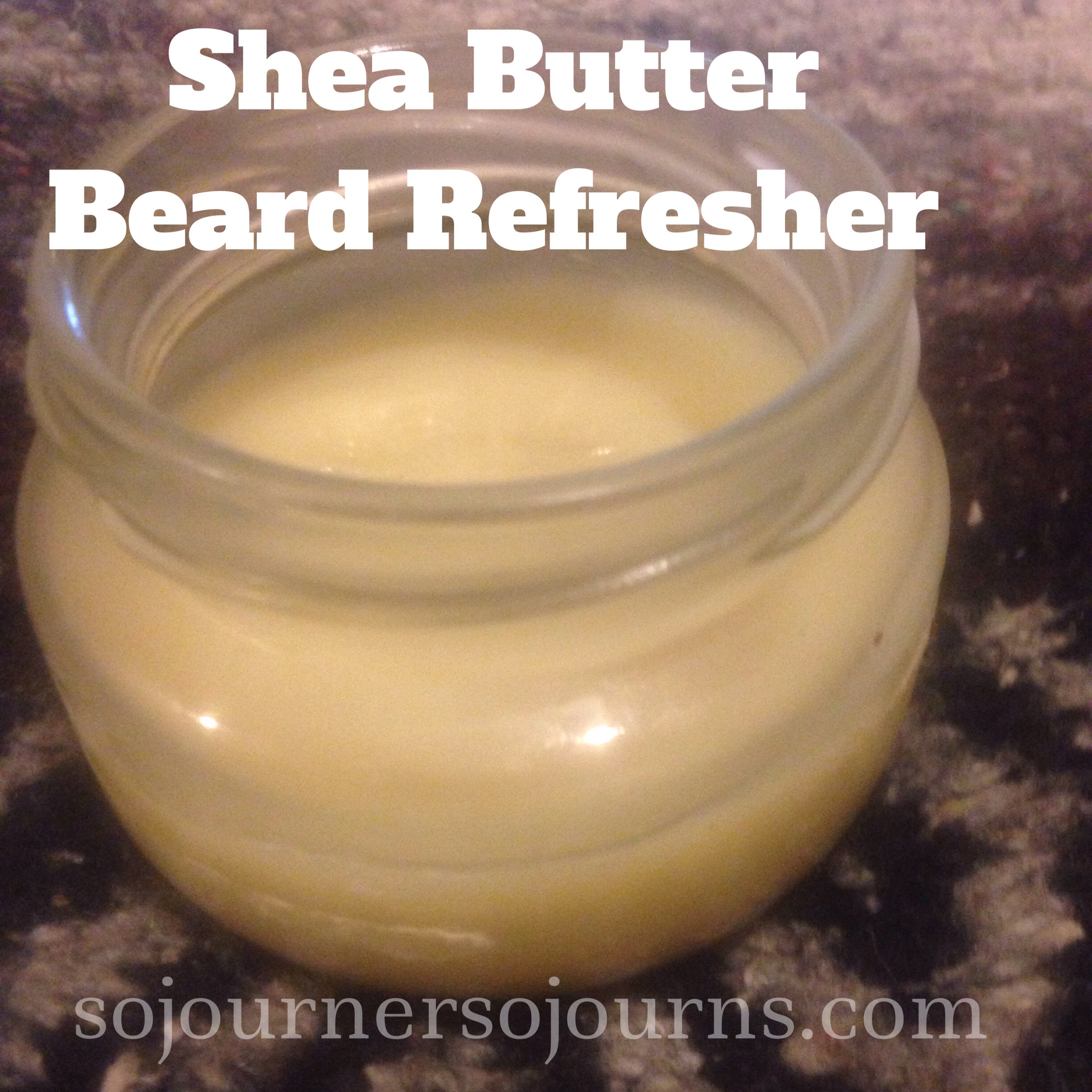 Shea Butter Beard Refresher