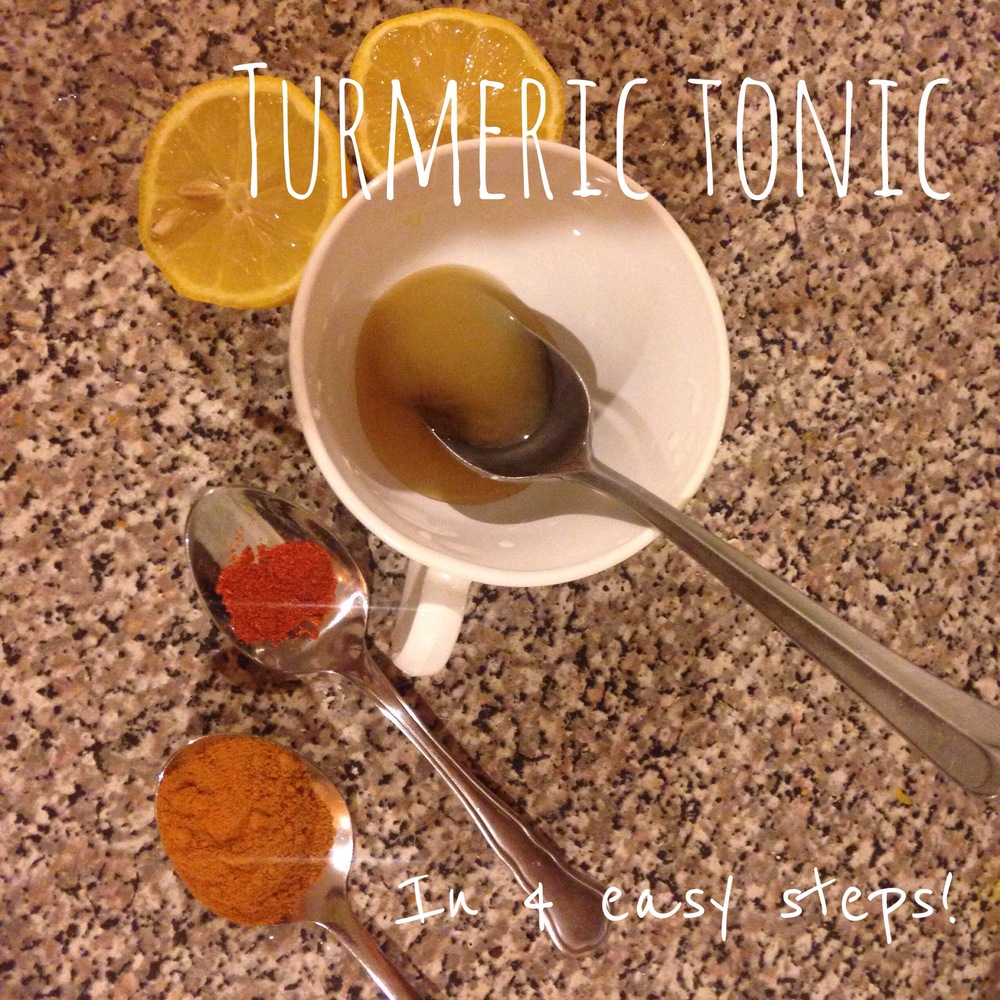 Turmeric Tonic in 4 Easy Steps