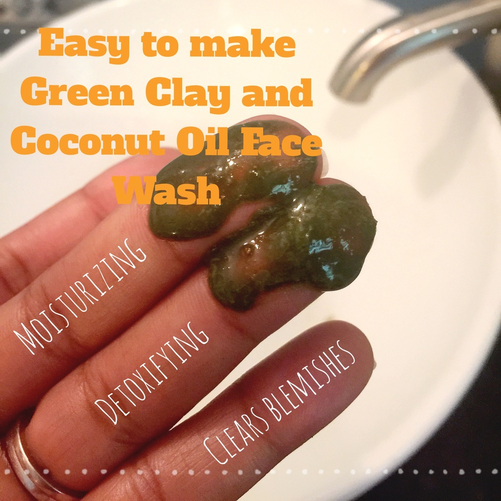 Natural DIY facial cleanser