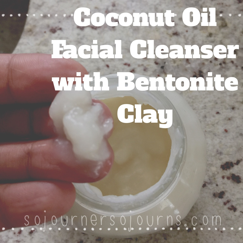 Coconut oil cleanser