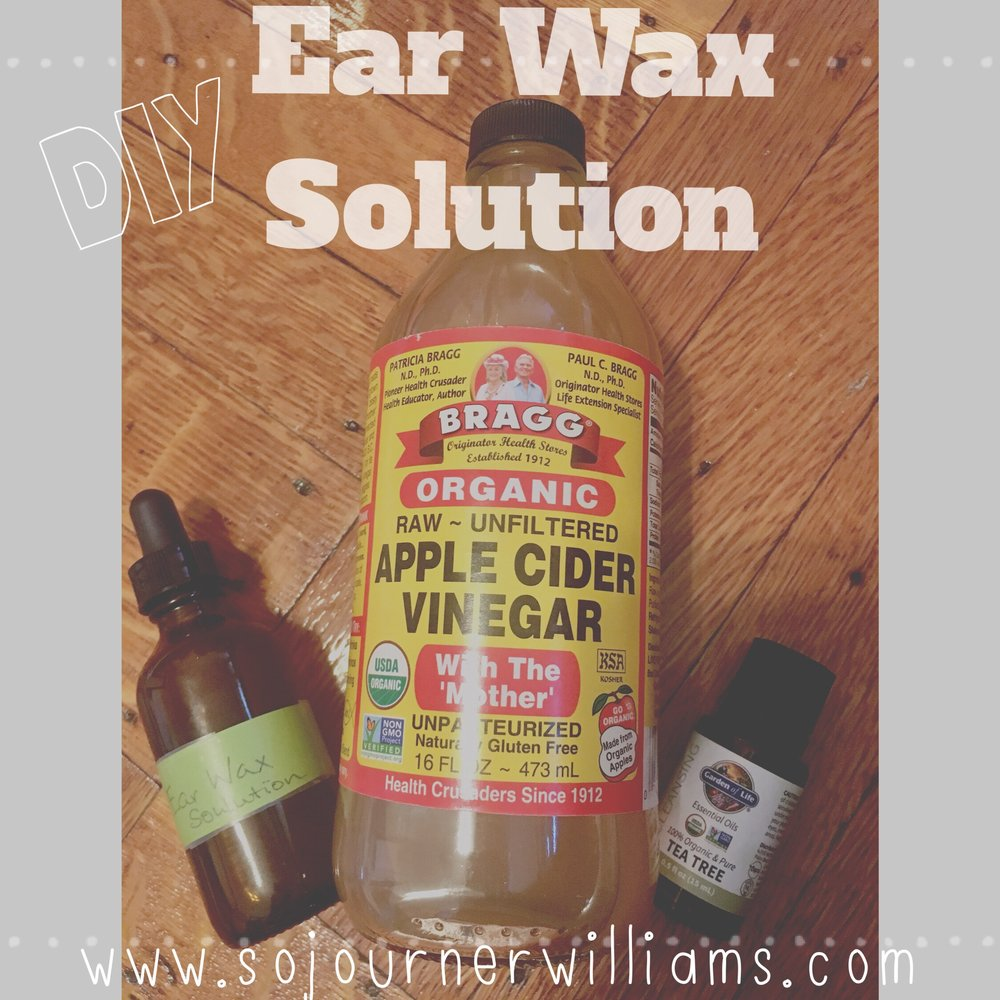 Diy natural ear wax removal sojourner williams yoga when my ears start to rebel i arm myself with this simple and effective diy ear wax removal solution solutioingenieria Images