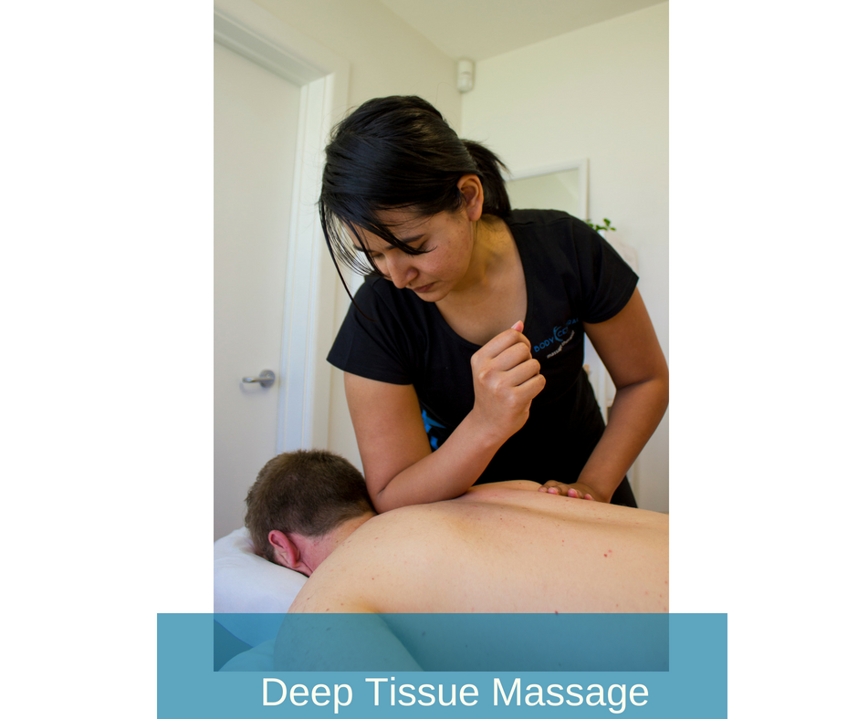 Deep Tissue  - applied deeper into the soft tissues (muscle, tendons and ligaments) to give you a therapeutic effect. Can help if you have chronic muscular pain or postural dysfunction. Break down scar tissue to increase mobility and help muscles work to their optimal capacity.   Neuromuscular Therapy  - a systematic approach to reducing muscular pain by restoring balance to your nervous system and your muscular system. If you have long standing chronic pain or dysfunction, NMT can help reduce or even eliminate that pain for you.