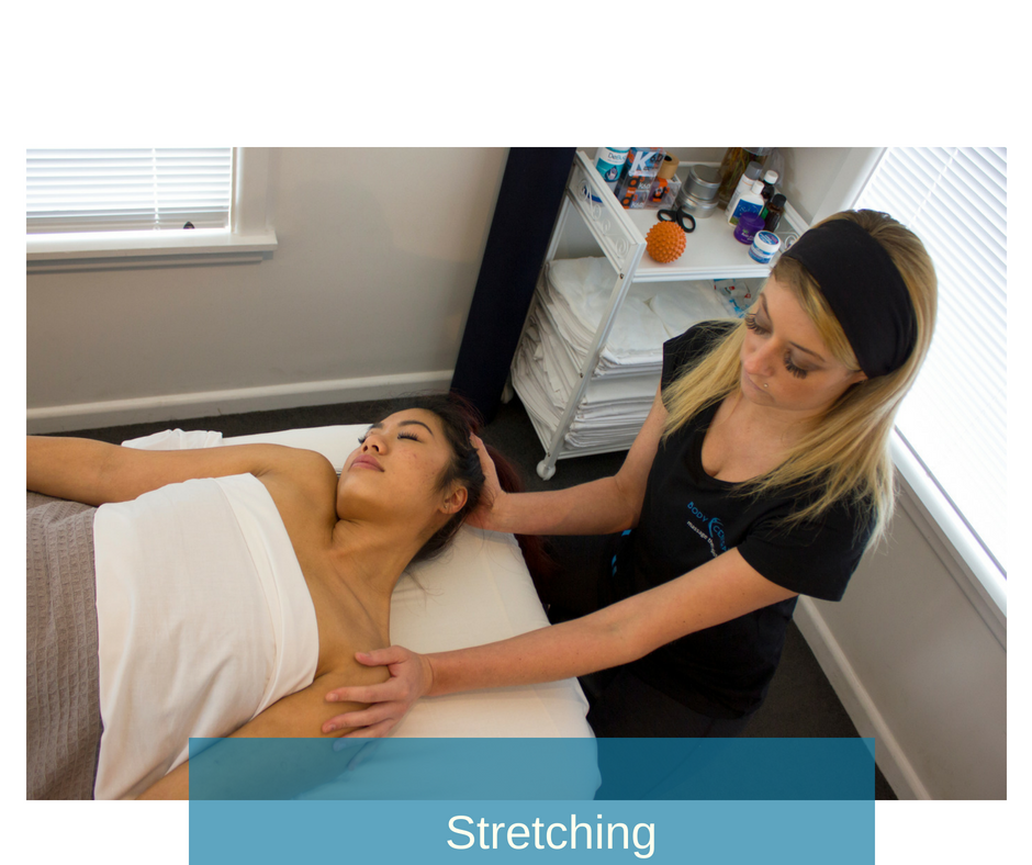 We utilize various stretch techniques - AIS, ART and PNF to aid your body in finding the range of motion best for you to keep doing what you love!