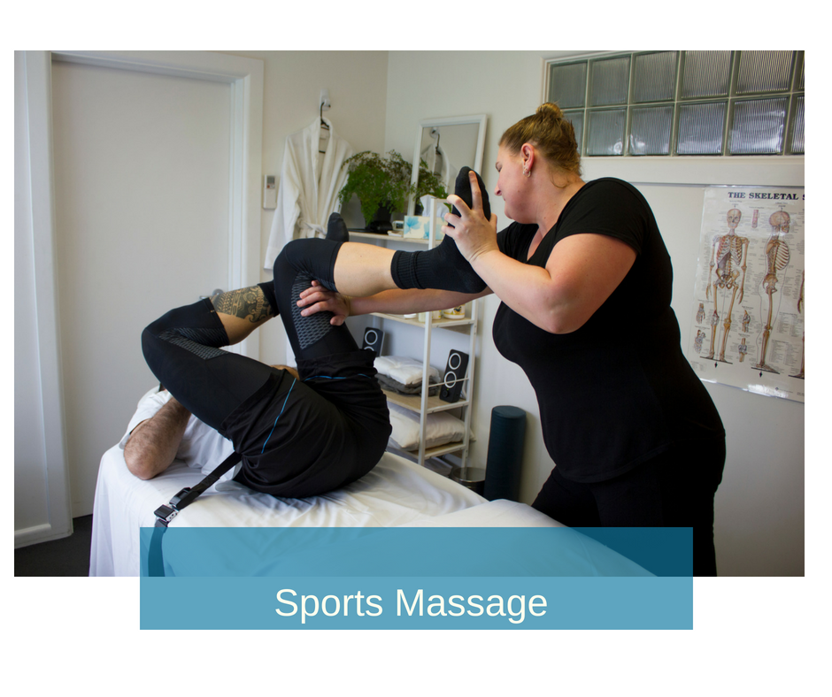 Sports Massage - uses a variety of techniques for pre-event, post-event or to assist with your recovery during training and to improve your performance. If you're competing in any sport or physical activity we can help you keep your muscles and your body in top physical condition.