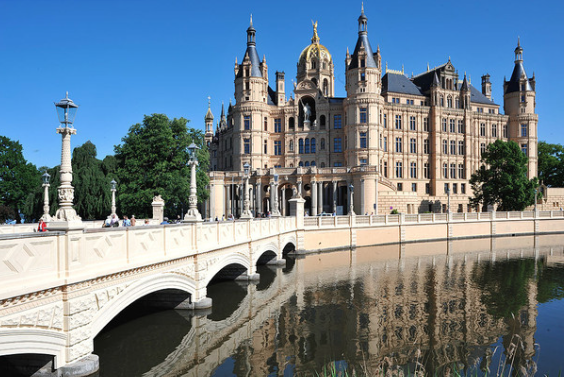 9. Schwerin Castle, Germany