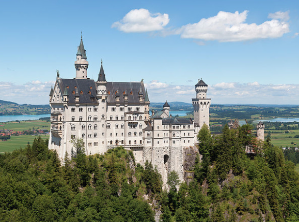 10. Neuschwanstein Castle, Germany