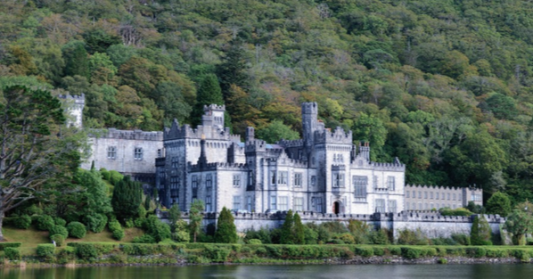 2. Kylemore Abbey, Ireland