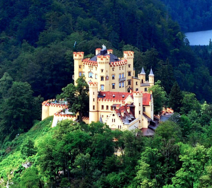 1. Hohenschwangau Castle, Germany