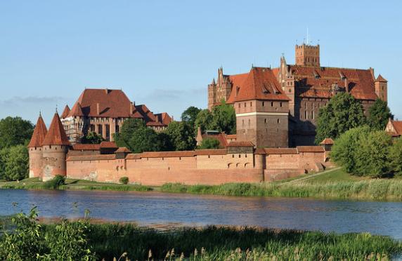 3. Malbork Castle, Poland