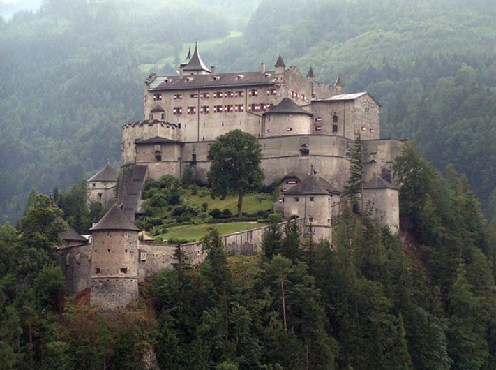 4. Hohenwerfen Castle, Austria